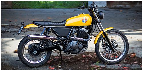 Přestavba Suzuki DR650 RSE Scrambler - 1993