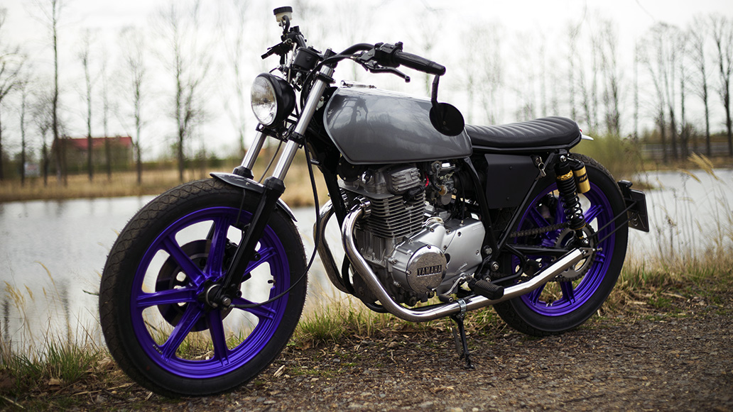 Přestavba Yamaha XS 360 Bratstyle - 1977